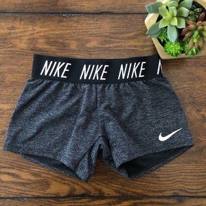 Nike Dri-Fit Gray Spandex Shorts